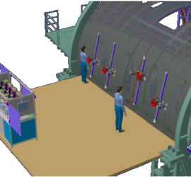 mini flextrack in production